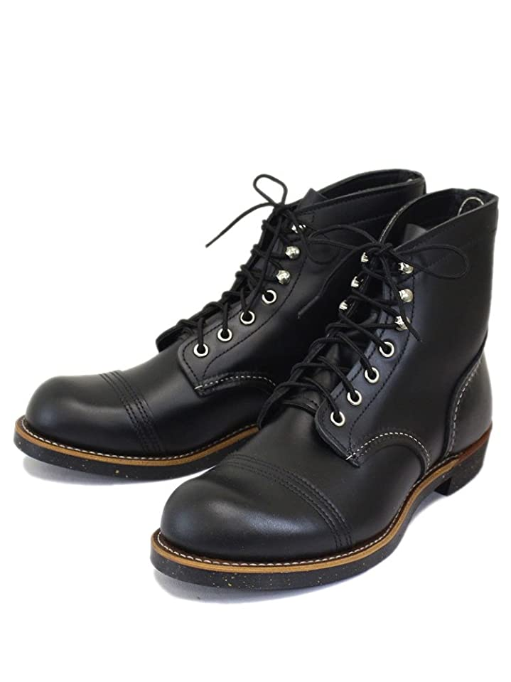 誇大妄想銀河世界記録のギネスブック8080 Iron Range Boots (アイアンレンジブーツ) ブラッククローム