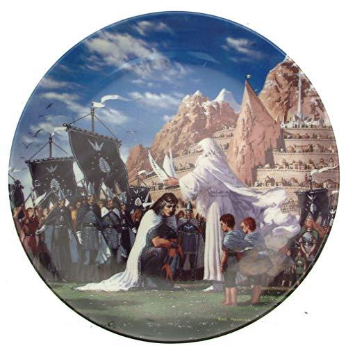 Wedgwood Seigneur des anneaux Plaque de deuxième série de l'épée-CP1012 recto-verso