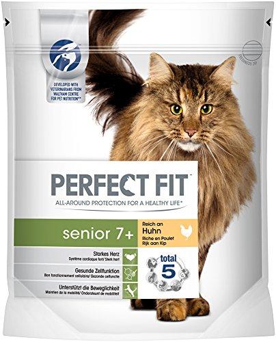 Perfect Fit Cat Trocken Senior 7 plus reich an Huhn, 750 g