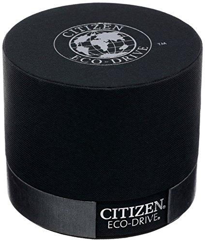 Citizen CA0467–03E–Montre de Poignet pour Homme, Bracelet en Acier Inoxydable Noir