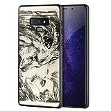 Berkin Arts Edvard Munch pour Samsung Galaxy Note 9/Cas de téléphone Portable d'art/Giclée UV Impression sur cellulaire Couverture(Le Lion Tamer SCH)