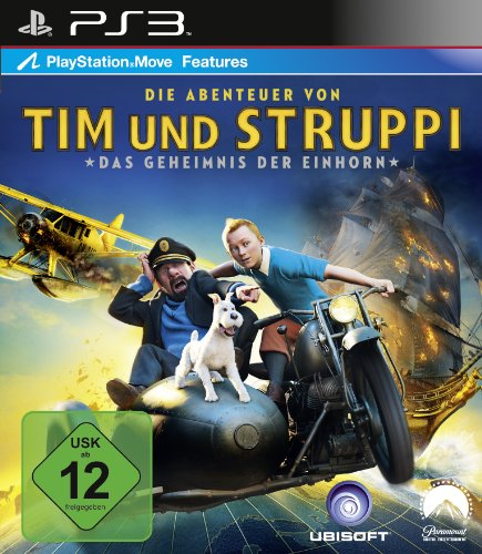 Preisvergleich Produktbild Die Abenteuer von Tim & Struppi - Das Geheimnis der Einhorn: Das Spiel