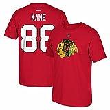 NHL Chicago Blackhawks #88 Patrick Kane Home Premier N and N Tee, Large, Red