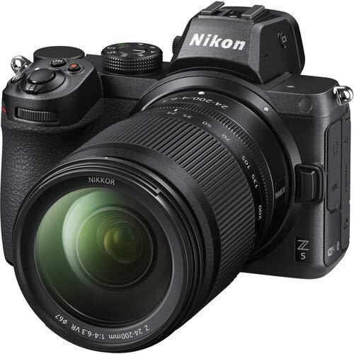 Nikon Digital Camera Z 5 Kit with NIKKOR Z 24-200mm f/4-6.3 Lens