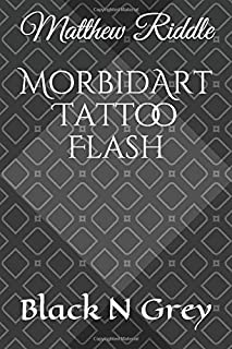 MorbidArt Tattoo Flash: Black N Grey