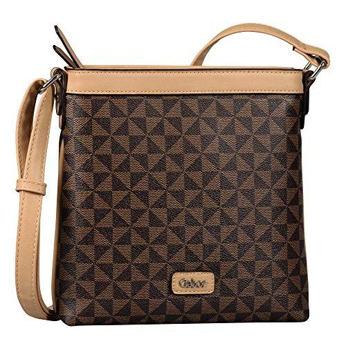 Gabor bags BARINA Damen Umhängetasche M, mixed brown, 24x3x23,5