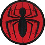 Ata-Boy Marvel Comics Spider-Man Logo 3' Full Color Embroidery Iron-On Patch