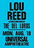 Kribee Poster Lou Reed Vintage Rare Band Rock Poster