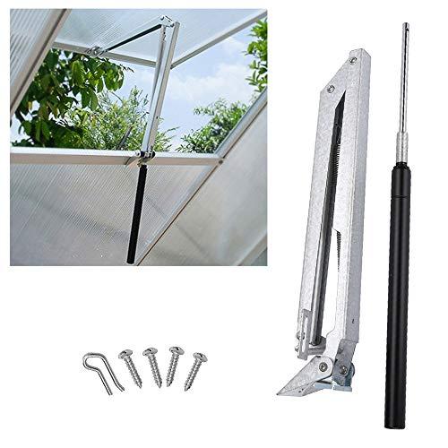 wolketon Automatischer Fensteröffner Einzelner Frühling für Gartenhaus Treibhaus und Dachlüfter, Fensterheber Verzinkte Stahl Fensterantrieb bis 7 kg