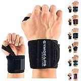 GYMGEARS Handgelenk Bandagen [2er Set] Wrist Wraps 45cm - Profi Handgelenkbandage für Kraftsport,...