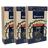 Husqvarna Set Of 3 OEM SP33G X-Cut .325 .050...