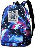 Galaxy Printed Shoulders Bag Van Damn Bus Tours Sense8 Fashion Casual Star Sky Backpack for Boys&Girls