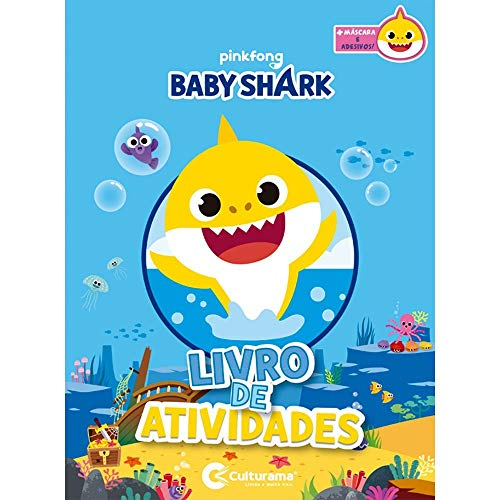 DIVERSAO COM ADESIVOS BABY SHARK