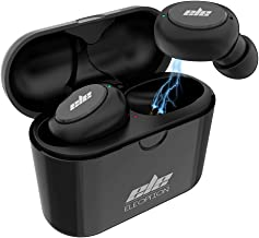 Beacon Pet True Wireless Bluetooth 5.0 Earbuds in-Ear Stereo Bluetooth Headphones Wireless Earphones with Charging Case (Bluetooth 5.0, Built-in Mic, Stereo Calls, 20 Hours Playtime, Sweatproof)
