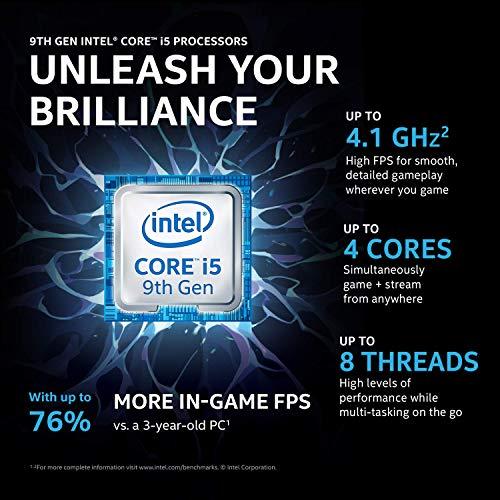 Acer Nitro 5 9th Gen Intel Core i5-9300H processo 15.6-inch Full HD 144Hz Gaming Laptop (8GB/ 1 TB, 2D NVMe, RAID 0 SSD /6 GB of NVIDIA® GeForce® GTX 1660 Ti Graphics/Win 10/Black), AN515-54