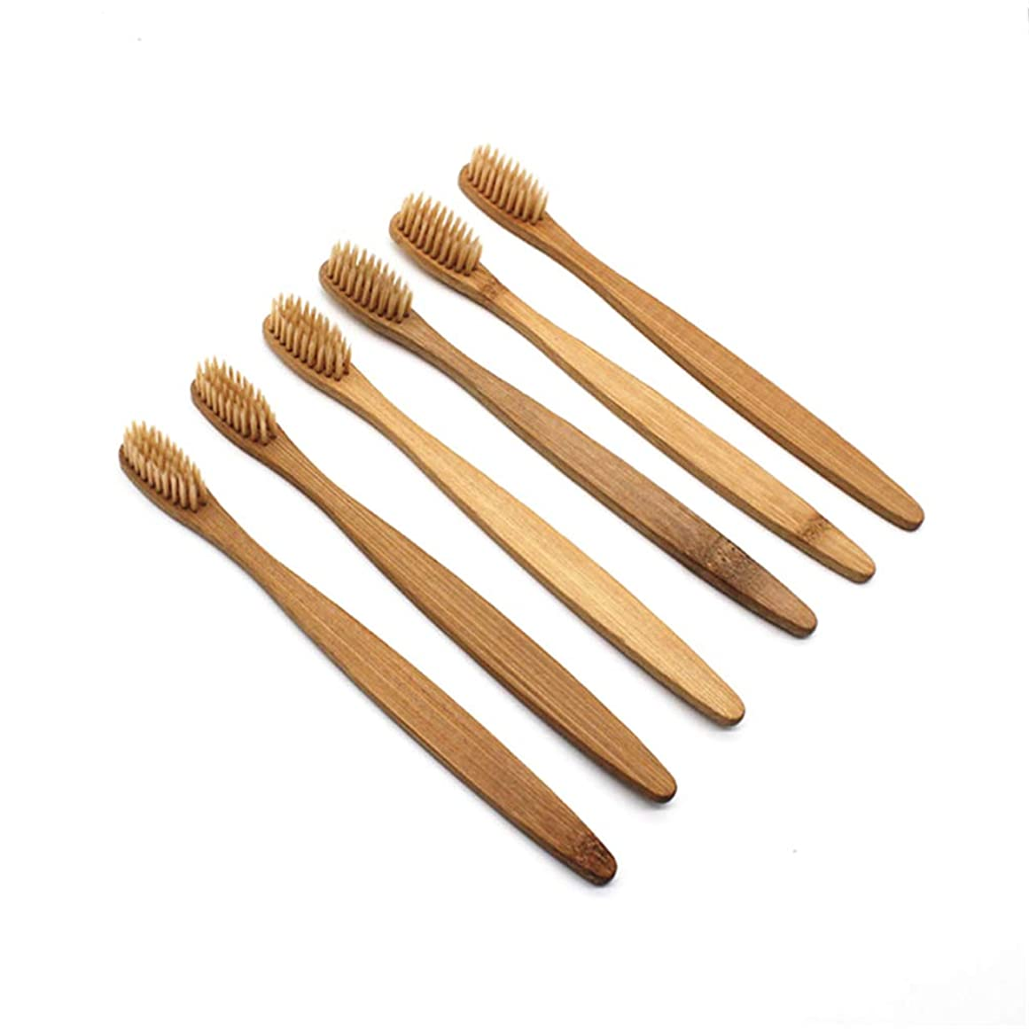 保守可能ブルハーネスHealifty 竹歯ブラシ環境に優しい天然歯ブラシ