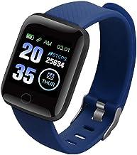 UIEMMY slim horloge Slimme polsband Bloeddrukmeting Hartslagmeter Slimme armband met 1,3 inch scherm met hoge resolutie