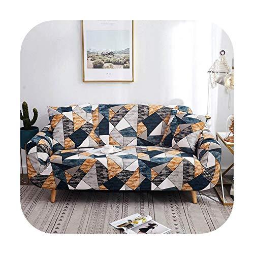 PrettyR - Funda elástica para sofá o sillón de esquina, 20 fundas para sofá de sofá de 2 plazas, para sala de estar, mascotas, silla, sofá de dos plazas, copridivano, Color 15, 4-seater 235-300cm