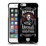 Head Case Designs Licenciado Oficialmente AMC The Walking Dead Lucille Negan Biker Art - Arte para Bicicleta Funda de Gel Negro Compatible con Apple iPhone 6 Plus/iPhone 6s Plus