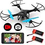 Force1 U45WF Drones with Camera for Adults and Kids - VR Capable WiFi Drone, Remote Control FPV…