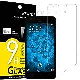 NEW'C 2 Stück, Schutzfolie Panzerglas für HTC Desire 825, Frei von Kratzern, 9H Festigkeit, HD Bildschirmschutzfolie, 0.33mm Ultra-klar, Ultrawiderstandsfähig