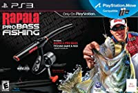 Rapala Pro Bass Fishing 2010 With Rod / Game
