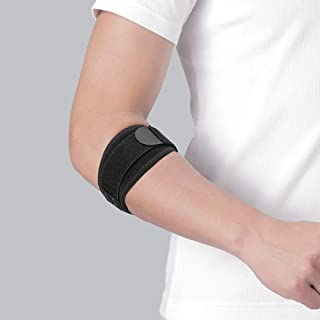 حزام الكوع تيدون مع بطانة من فيتين، أسود، كبير