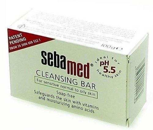 Seba Med Cleansing Bar 100g by Pasante (English Manual)
