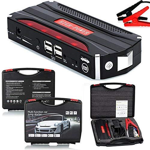 Riloer Heavy Duty 68800 mAh tragbares Auto-Notladegerät Starthilfe USB Power Bank