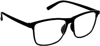 ARZONAI Besties Wayfarer Black-Transparent UV Protection Sunglasses | Frame For Men & Women MA-318-S1 (Large) Lens Width - 56mm