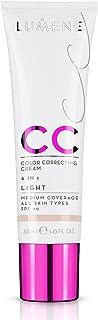 NEW Lumene CC Cream 6 in 1 Medium Coverage for all Skin Types SPF 20 Light