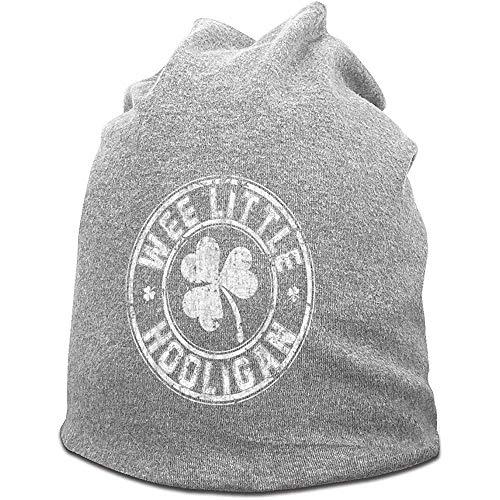H.D. Mützen Hat Beanies Hut Mütze-Wee Little Hooligan Beanie Caps Skihut Für Herren 'S Grey