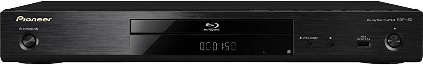 Pioneer BDP-150 Blu-ray 3D Trademark Disc Player with Network Features (Black)