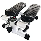 TureFans Stepper, Mini Stepper, Step Fitness, con 2 Cuerdas