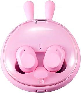 Wireless Bluetooth Sports Headset, Bluetooth 5.0, HIFI Sound Quality, IPX6 Waterproof, Cartoon,Pink