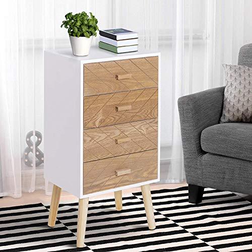 Muebles Auxiliares Dormitorio Vintage Marca HOMCOM