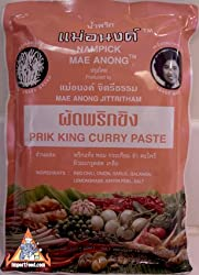 Prik King Curry Paste All Natural 16 Oz Product of Thailand