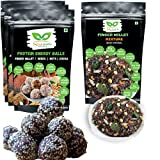 SIRISNAX Protein Energy Ball+Free ragi chivda/Ragi Dry Fruit Laddu/Diet Food for Weight Loss Sugar Free Sweets for Diabetic Healthy Snacks for Kids Vegan Snacks high Protein Food Gluten Free Snacks