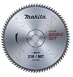 マキタ Makita チップソー ダブルスリット 外径216mm 刃数80T 高剛性タイプ 一般木材用 卓上マルノコ A-45995