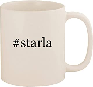 #starla - 11oz Ceramic Coffee Mug Cup, White