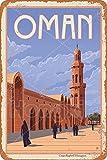 HONGXIN Oman Blechschild Dekoschild Retro Poster Metall