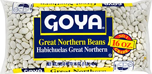 Goya Foods Great Northern Beans, Dry, 16 Ounce (Pack of 24)