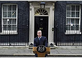 Media Storehouse A2 Poster of Britain s Prime Minister David Cameron Speaks Outside Downing Street in (19523577)