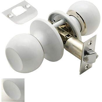 Oryx 3035035 Pomo puerta esferico, Inox: Amazon.es: Bricolaje y herramientas