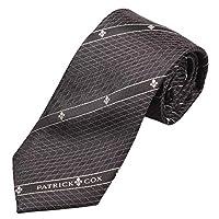 PATRICK COX 【パトリックスコックス】 ネクタイ PC-002-BLACK ブラック ボックスタイプ