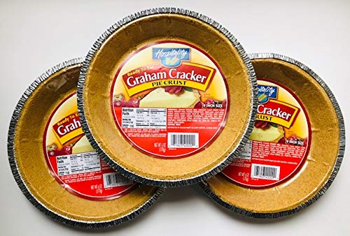 23cm グラハムクラッカー パイクラスト( 170g×3枚)  (賞味期限2021-11-24 ) Graham Cracker Pie Crust(170g×3) ( Best before date 2021-11-25)