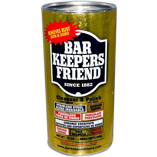 Bar Keepers Friend All-Purpose Cleaner & Polish 12 oz (Pack of 3)