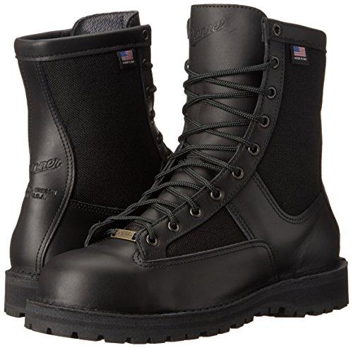 "Danner Men's Acadia 8"" Non-Metallic Safety Toe Boot, Black, 8 D US"
