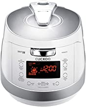 Cuckoo CRP-HS0657F 6 cup Induction Heating Pressure Rice Cooker – 18 Built-in Programs..