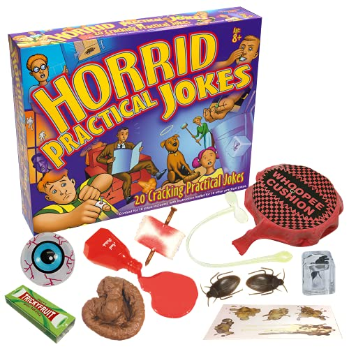 Drumond Park Horrid Practical Jokes Game | Children Action Prank Kit for...